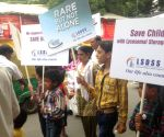 Silent march on the eve of International Gaucher Day