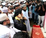 Dhaka (Bangladesh): Namaz-e-Janaza of Maolana Nurul Islam Farooqi