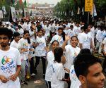 """Modi flags-off  """"Run for Rio"""