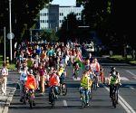 CROATIA ZAGREB PRIDE RIDE LGBTQ
