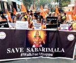 """Walk for Ayyappa"""" rally"""