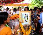 Yavatmal (Maharashtra): Last rites of C-60 commando killed in Maharastra Maoist attack