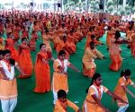 International Yoga Day celebrations at Shantikunj
