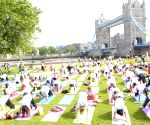 International Day of Yoga - Pottersfields Park
