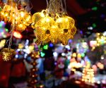 : Kolkata :People purchase lights to decorate their houses for upcoming Diwali Festivals ,