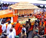 SRI LANKA COLOMBO MONK FUNERAL
