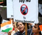 Demonstration against Zakir Naik