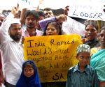 Demonstration against rape of a minor