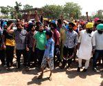 Sangrur (Punjab): Child retrieved from Punjab borewell dead, people protest
