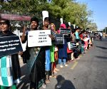 People protest against Pollachi sexual assault case