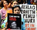 "Gauri Lankesh's murder - ""Not In My Name"" demonstration at Jantar Mantar"