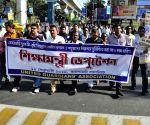 Demonstration against hike in school fees