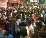 Relatives of Burari murder case demonstrate