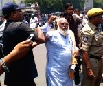 People protest against Telangana exam goof-up, police detain protesters