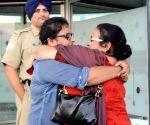 People stranded in J&K arrived in Amritsar