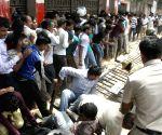 People throng Chinnaswamy Stadium to buy IPL final match tickets