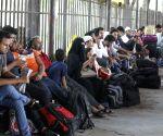 Eid rush at Biman Bandar railway station