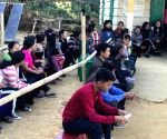 People cast their vote for Mizoram assembly elections