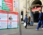 BELARUS MINSK PRESIDENTIAL ELECTION