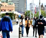 ) Australia's Melbourne celebrates end of lockdown as bars, restaurants reopen