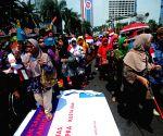 INDONESIA JAKARTA CULTURAL CARNIVAL DISABILITIES