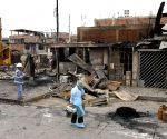 PERU LIMA GAS TANKER EXPLOSION