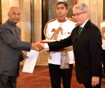 Peru's Ambassador designate presents credentials to President Kovind