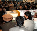 PAKISTAN PESHAWAR SCHOOL ATTACK FUNERAL