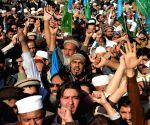 PAKISTAN PESHAWAR PROTEST CHARLIE HEBDO