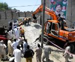 PAKISTAN PESHAWAR BUILDING COLLAPSE