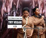 PETA activists go vegan