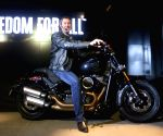 Harley Davidson motorcycle launch