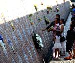 THAILAND-PHANGNGA-TSUNAMI MEMORIAL PARK-INDIAN OCEAN TSUNAMI-14TH ANNIVERSARY-MOURNING