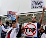 U.S. PHILADELPHIA DEMOCRATIC NATIONAL CONVENTION PROTEST
