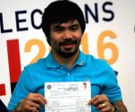 PHILIPPINES MANILA BOXING CHAMPION SENATOR