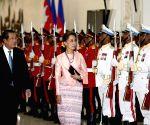 CAMBODIA-PHNOM PENH-MYANMAR'S AUNG SAN SUU KYI-VISIT