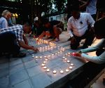 CAMBODIA PHNOM PENH NICE ATTACK CANDLE LIGHT VIGIL