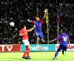 CAMBODIA PHNOM PENH LAOS FOOTBALL MATCH