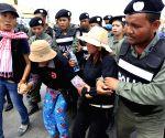 CAMBODIA PHNOM PENH RALLY