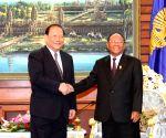 CAMBODIA PHNOM PENH CHINA DIPLOMATIC TIES
