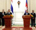 CAMBODIA PHNOM PENH THAILAND PM VISIT