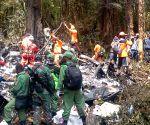 INDONESIA-JAYAPURA-TRIGANA PLANE CRASH