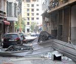 LEBANON BEIRUT HUGE EXPLOSIONS CASUALTIES