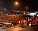 SOUTH AFRICA JOHANNESBURG BRIDGE COLLAPSE