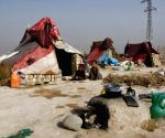 Displaced persons camp in Mazar-i-Sharif, Afghanistan