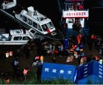 8 killed, 7 missing after passenger boat overturns in China