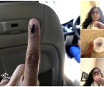 Twitter abuzz with posts of vanishing 'indelible ink'