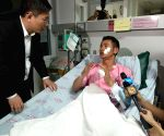 THAILAND PHUKET ACCIDENT SURVIVOR