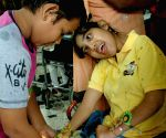 Physically and mentally challenged children tie Rakhi in Kolkata