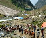 In 22 days, pilgrim numbers break last year's 60-day long Amarnath Yatra record